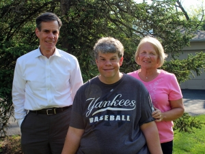 (Pictured from left to right) Pat Walsh Sr., Patrick Walsh Jr., and Kathie Walsh